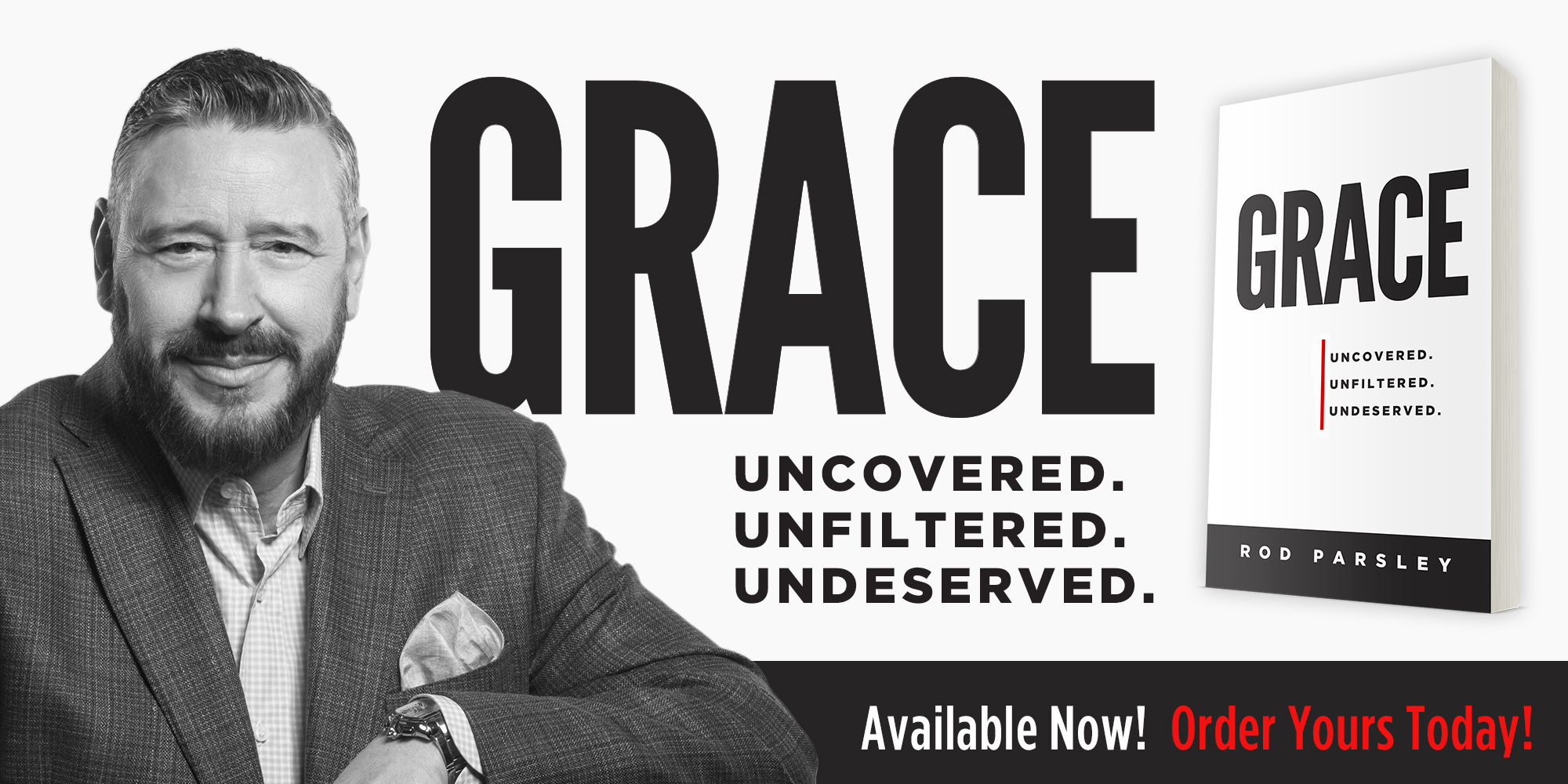 GRACE: Uncovered. Unfiltered. Undeserved. | Available Now! Order Yours Today!