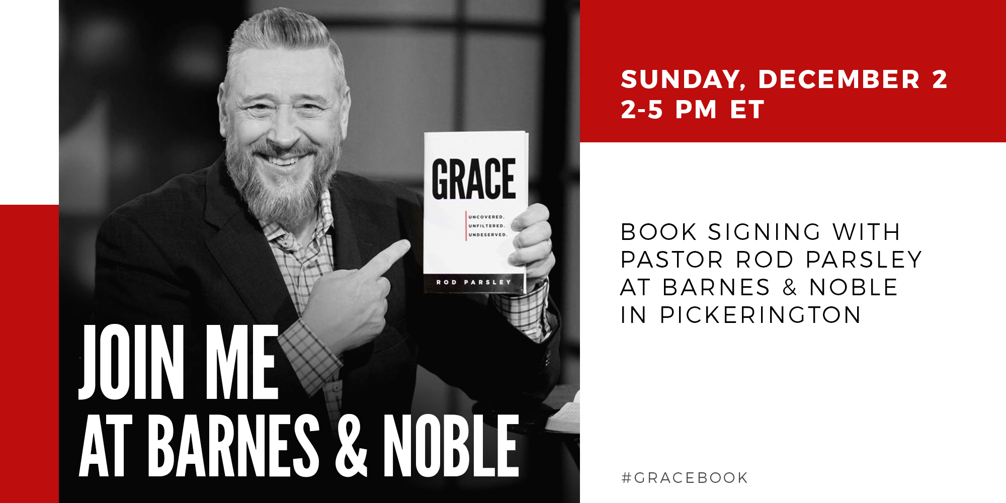 Grace | Join Me At Barnes and  Noble