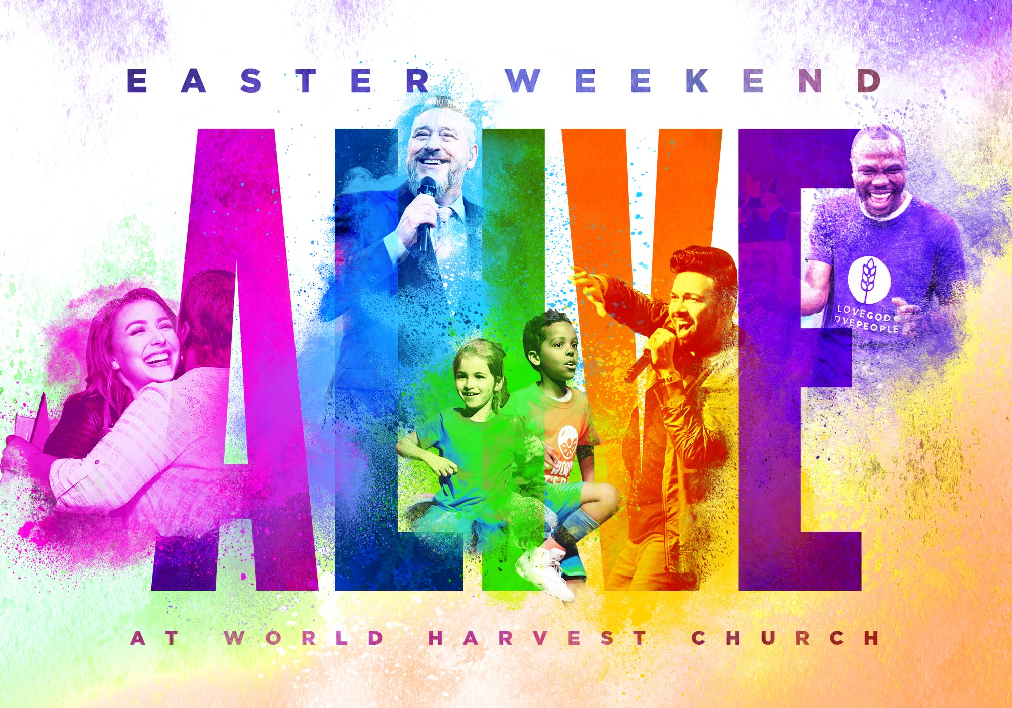 Easter at World Harvest Church | April 21st at 10:00 AM Eastern Time | ALIVE At World Harvest Church