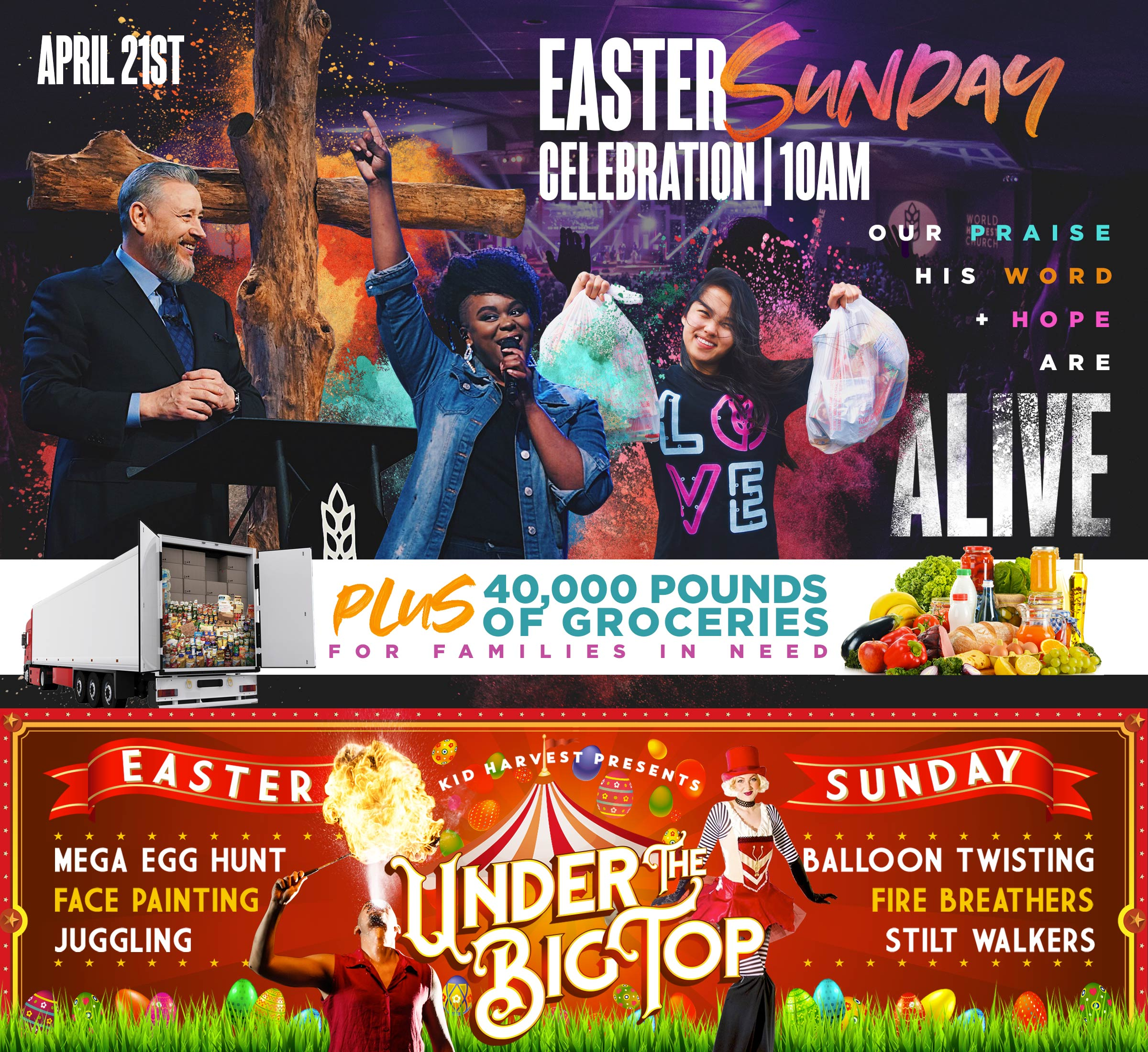 Easter Sunday Celebration | April 21st at 10AM - WHC.LIFE